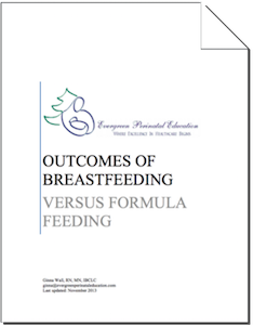 Outcomes of Breastfeeding